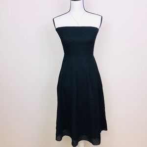J.Crew strapless little black dress